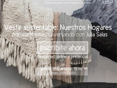 Vestir Sustentable: Nuestros Hogares