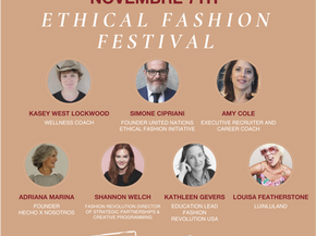 Join HxN's Founder Adriana Marina at the Ethical Fashion Festival!