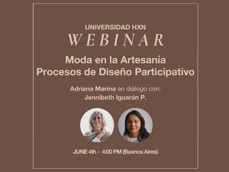 Webinar 4.6: Moda en la Artesanía. Procesos de diseño participativo