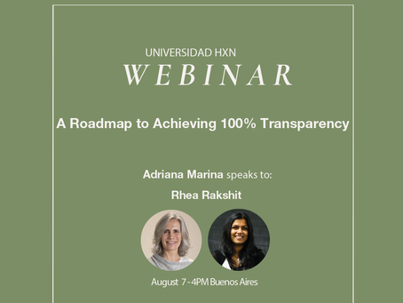 Webinar 7.8: A Roadmap to Achieving 100% Transparency