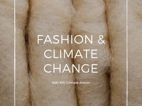 Fashion & Climate Change SDG #
