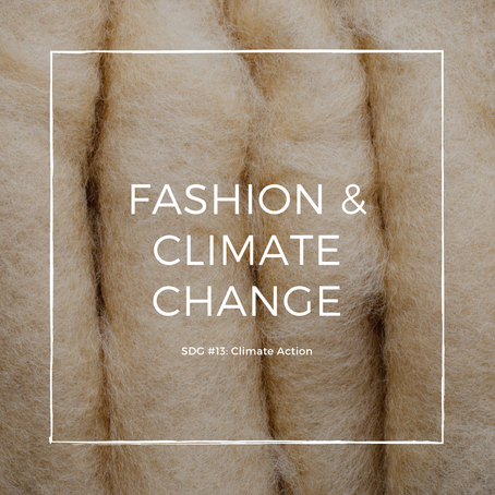 Fashion & Climate Change SDG #