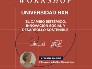 Universidad HxN: Co-creando el workshop sobre la Innovación Social y Cambio Sistémico