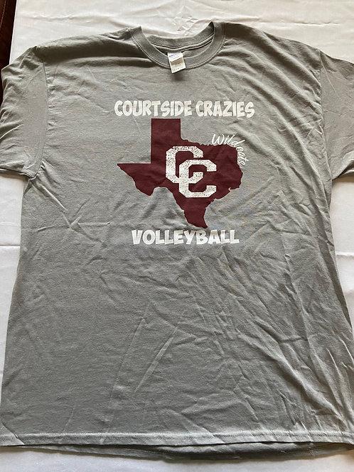 2018 Courtside Crazies Ric Flair T-Shirt