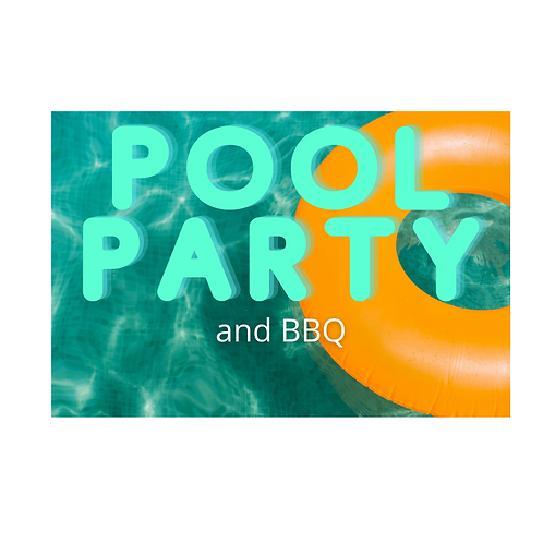 Pre-Season Pool Party and BBQ