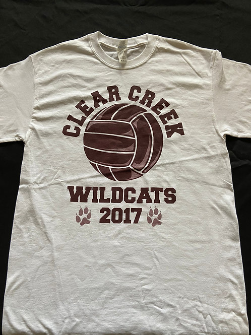2017 White Camp T-Shirt Never Done