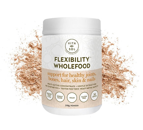 Flexibility - Inner beauty must have for collagen production, nails, hair