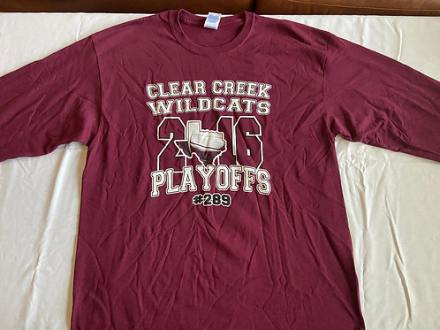 Long Sleeve 2016 Playoff Shirt