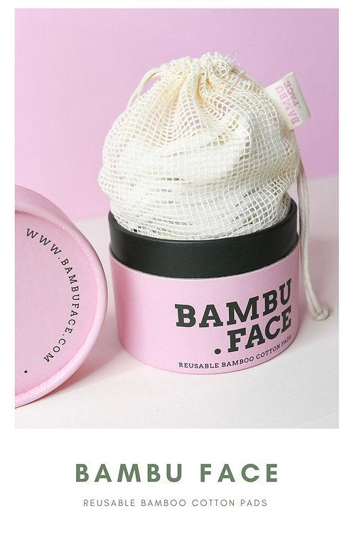 BAMBU FACE - Reusable Bamboo Cottons Pads