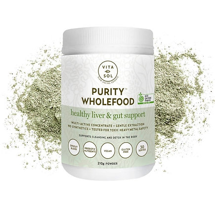 Purity - Inner beauty greens powder supplements for gut health, acne & eczema