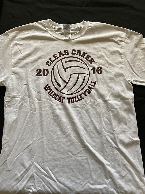 2016 White Camp T-Shirt