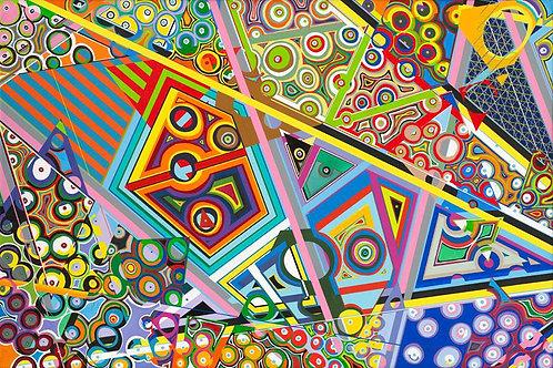 Geometric # 150x100