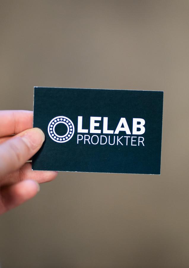 Visitkort - lelab Produkter