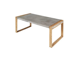 Micro-cement table