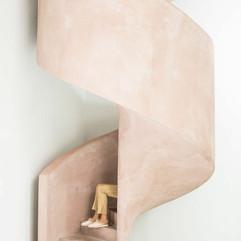 Pink Polished Plaster Spiral Stairway.jpg