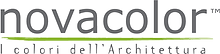 Novacolor logo. Venetian plaster and polished plaster product supplier.