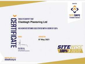 SiteWise Gold Certification