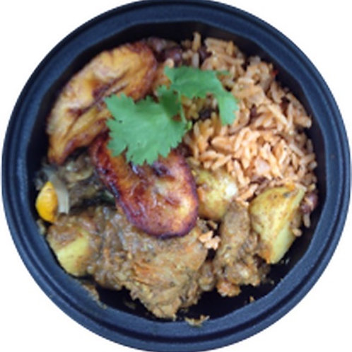 5-pack Jerk/Curry Chicken Meal (individual)
