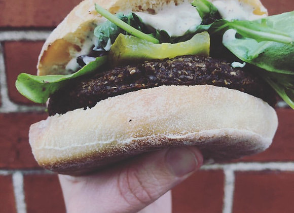 Vegan Jerk Burger Patties (6)