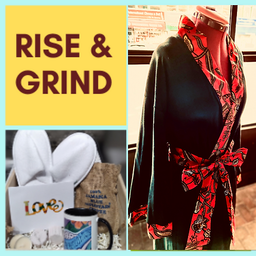 Rise & Grind - Luxe Handmade Robe & Gifts Set