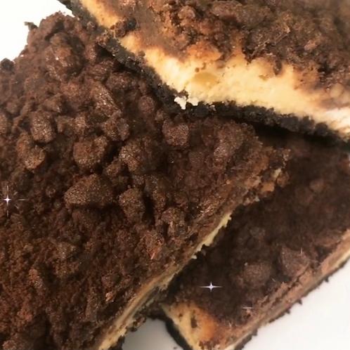 Chocolate Mango Cheesecake Bars