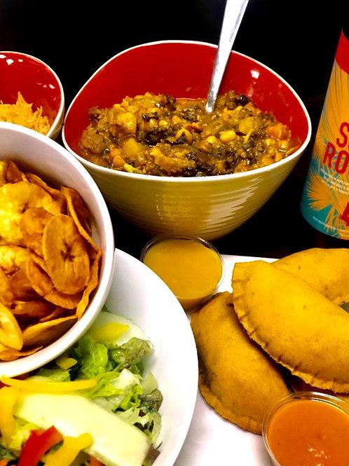 Vegan Caribbean Feast (serves 4)