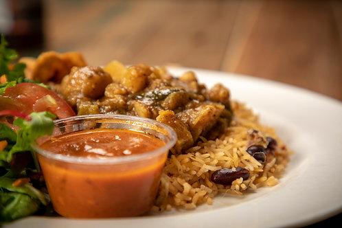 Vegan Curry Dinner (serves 1)