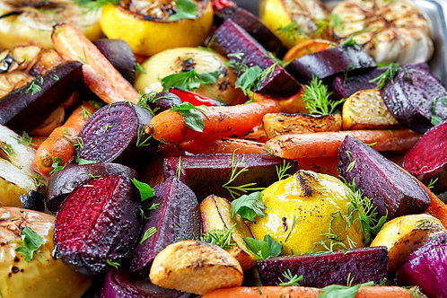 Roasted Vegetables & Provisions (4 servings)