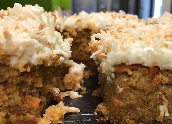 Vegan Pina Colada Carrot Cake (3 Cupcakes)
