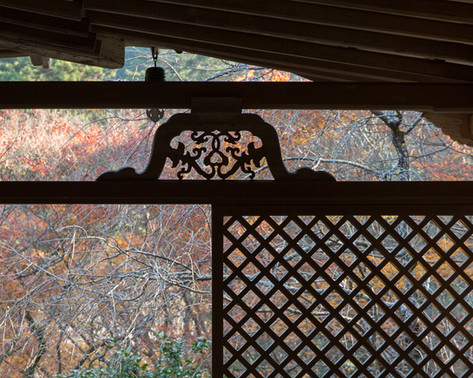 KOZAN- JI TEMPLE 高山寺 石水院