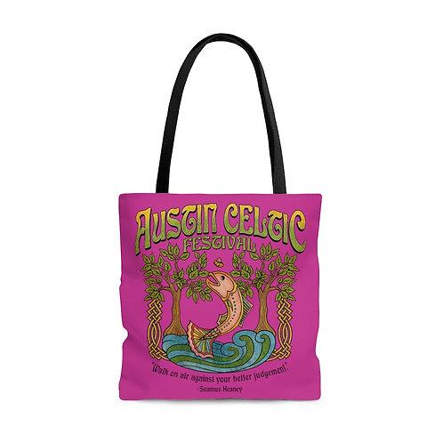 2014 Austin Celtic Festival AOP Tote Bag