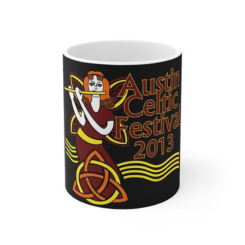 2013 Austin Celtic Festival Mug 11oz