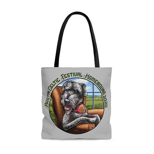 2020 Austin Celtic Festival Homebound AOP Tote Bag