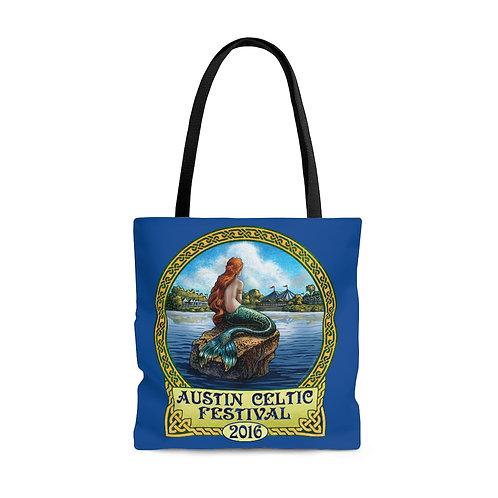2016 Austin Celtic Festival Mermaid AOP Tote Bag