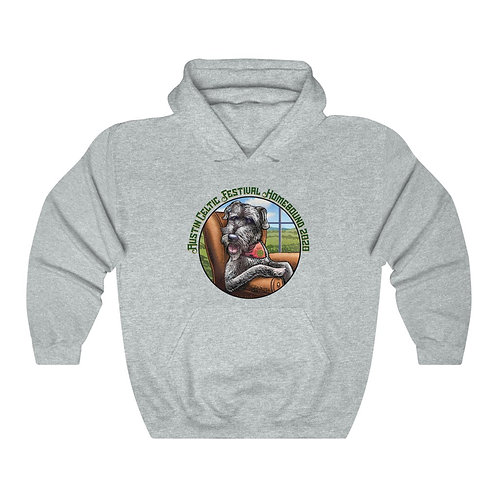 2020 Austin Celtic Festival Homebound Unisex Heavy Blend™ Hooded Sweatshirt