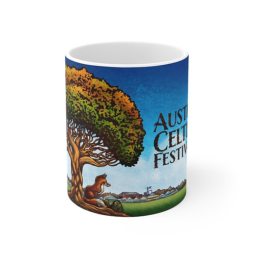 2018 Austin Celtic Festival Fox Mug 11oz