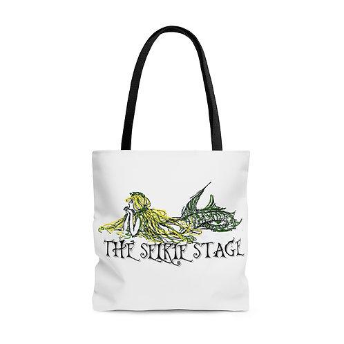Austin Celtic Festival Selkie Stage Vintage Mermaid AOP Tote Bag