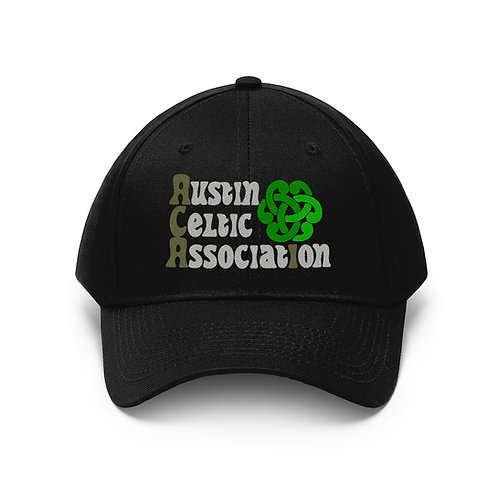 Austin Celtic Association Light Logo Unisex Twill Hat