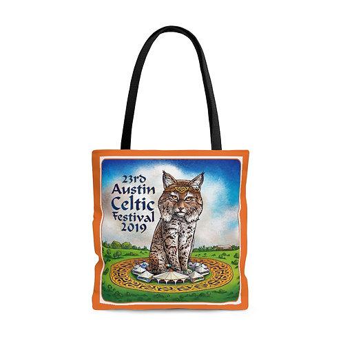 2019 Austin Celtic Festival Bobcat OP Tote Bag
