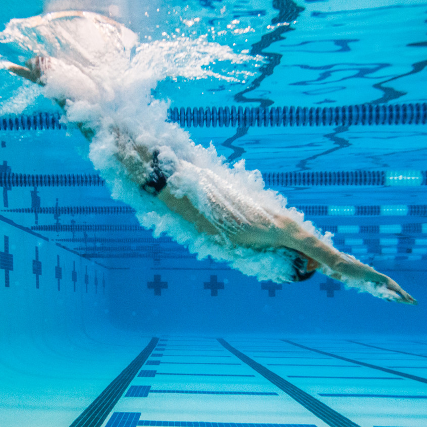 Underwater Photo of Swimmer