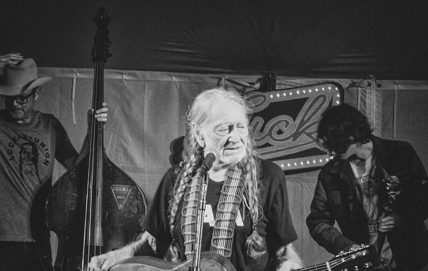 Willie Nelson at Luck Ranch