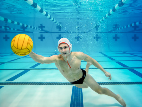 High School Sophomore Vladimir excels in both Water Polo and Swimming at Westwood High School
