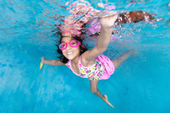 Swim School Underwater Photography