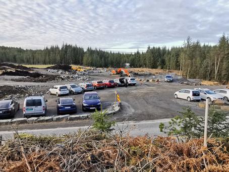 Utvidelse av parkeringen