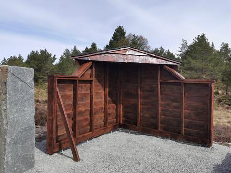 Åpning av Torvhusene og minneplassen i lysløypen