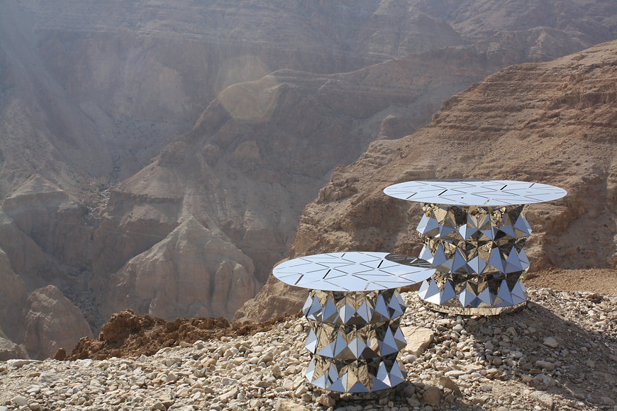 Tass side table Desert collection- Metal