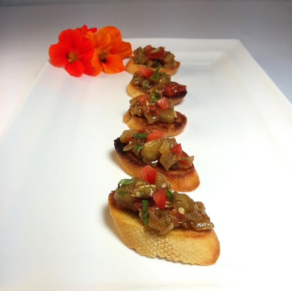 Eggplant-Caponata