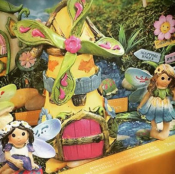 Looking for the perfect gift for the little girls in your life_! Fairy gardens have arrived!! 4 them