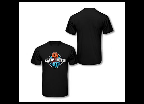 Swish 2 Success Original Logo T-Shirt - Black