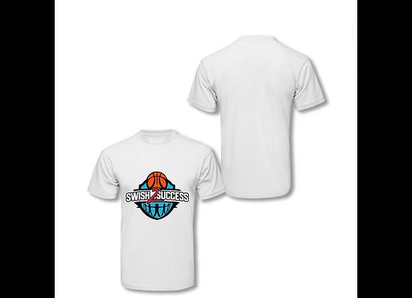 Swish 2 Success Original Logo T-Shirt -White